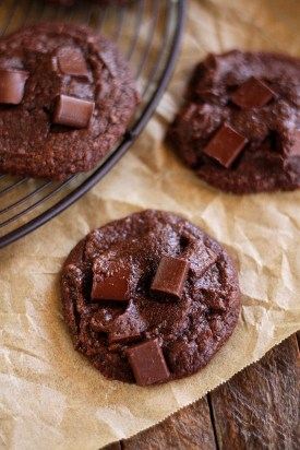 A fun little cookie packed with chunks of chocolate. (Southern Bite)