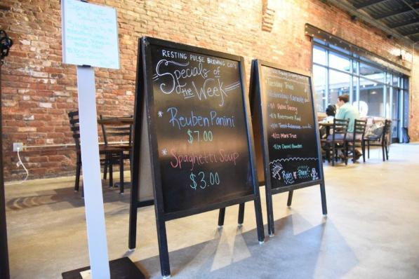 Resting Pulse Brewing Co. in Opelika is making beers and creating an environment to encourage unwinding. (Brittany Dunn / Alabama NewsCenter)
