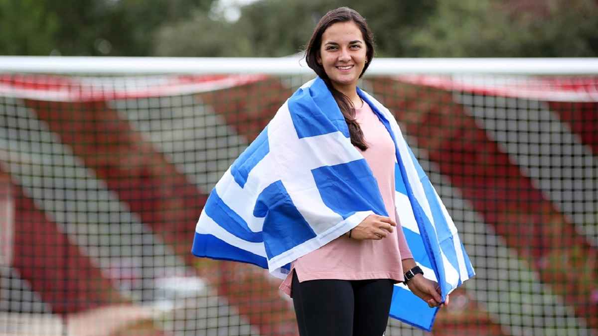 South Alabama soccer player doubles as midfielder for Hellenic Women's National Team