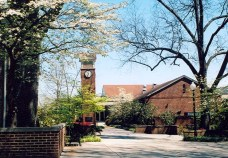 Athens State University in Athens, Limestone County, teaches the last two years of four-year college programs for the state's two-year college system and transfer students. The school was founded during the early 1820s. (From Encyclopedia of Alabama, photo courtesy of Athens State University)