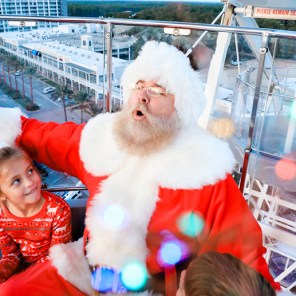 Saint Nick is available for pictures Dec. 23-24 at The Wharf in Orange Beach. (Contributed)