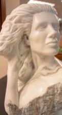 """Rapunzel"" by Frank Murphy, sculpted at the Sylacauga Marble Festival 2009. (Dennis Washington / Alabama NewsCenter)"