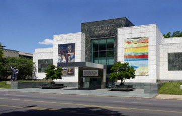 The Birmingham Museum of Art, which sits on 3.9 acres in the heart of the city, houses more than 24,000 works of art, including major collections from Africa, the Americas, Asia, and Europe as well as a large collection of works by Alabama artists. (From Encyclopedia of Alabama, photo courtesy of the Birmingham Museum of Art)