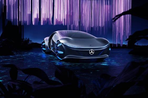 Mercedes-Benz unveiled the AVTR concept at CES 2020. (Mercedes-Benz)