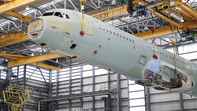 Alabama plant helps Airbus jet deliveries hit record