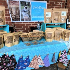 CahaBones offers homemade gourmet dog treats in a variety of flavors. (contributed)