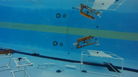 The goal of these competitions, and other ROV programs at DISL, is to inspire students' interest in robotics, aquatic science and oceanography. (contributed)