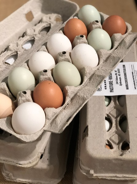 Choose from a variety of winter veggies, farm eggs, sheep cheese, herbs, breads, pastries, meats, poultry and other market goods. (Contributed)