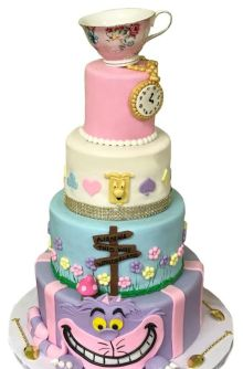 The Alice in Wonderland cake. (CakEffect)