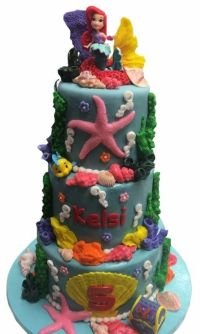 The Little Mermaid cake is a crowd pleaser. (CakEffect)