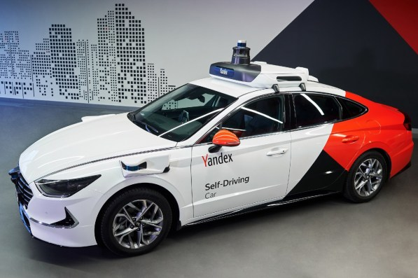 Hyundai Sonatas will play a big role in Yantex's self-driving fleet of cars. (Yandex)