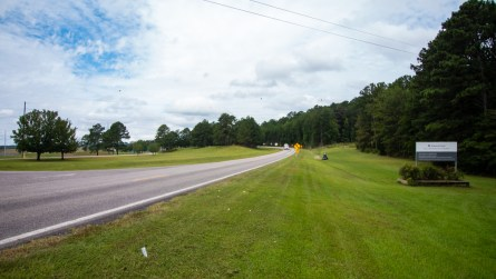 The entrance to H. Neely Henry Dam. (Dennis Washington / Alabama NewsCenter)