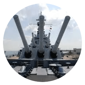 Bay City USS Alabama Battleship Tour