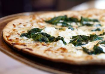 Pizza at Joe Cain Cafe at the Battle House Renaissance Mobile Hotel and Spa