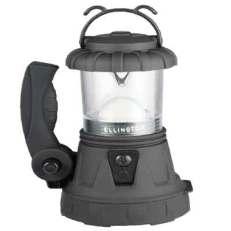 Rechargeable spotlight lantern black