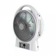 Lontor Rechargeable Table Fan USB Radio