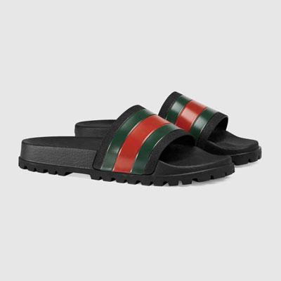 6ea942541 Gucci Web Slide Sandal