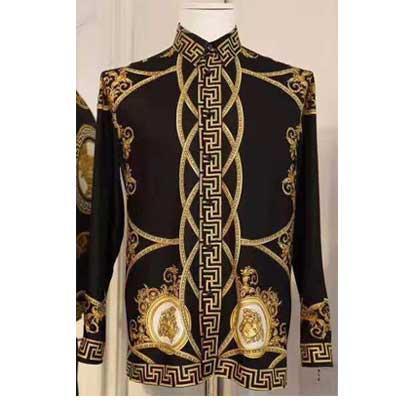 e74831f6 Vintage Gianni Versace Silk Shirt | Alabastore.com