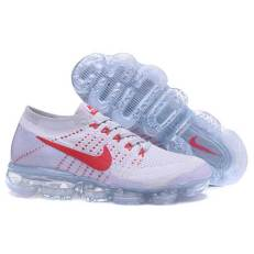 Nike Air Vapormax Flyknit white red
