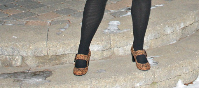 leopard shoes, kmart