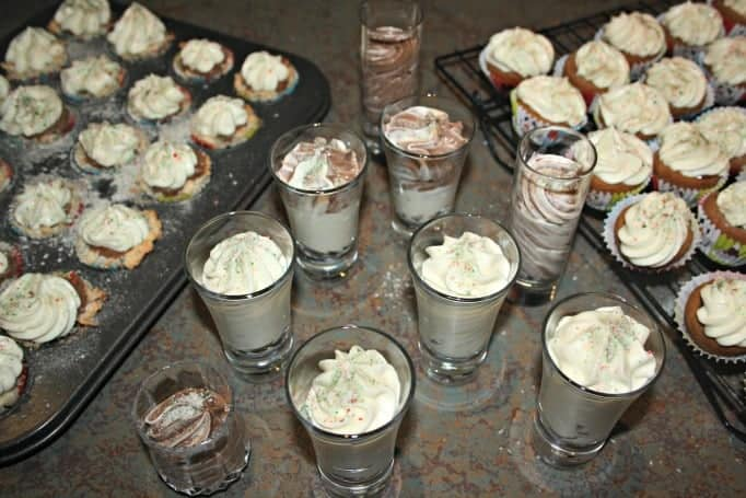 white chocolate mousse desserts