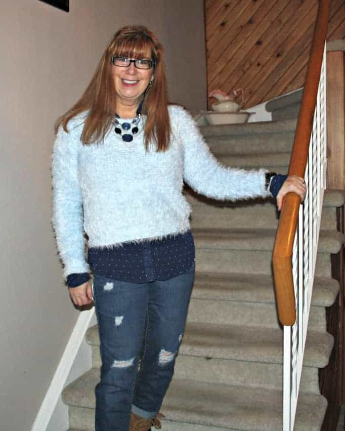 fuzzy sweater forever 21