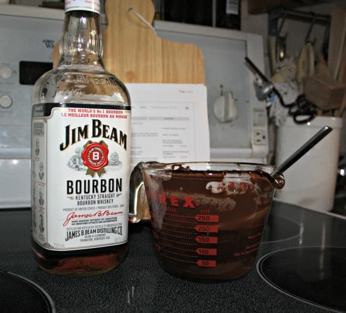 Chocolate Bourbon Mousse and Jim Beam