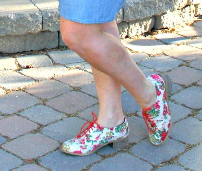 floral oxfords shoe dazzle