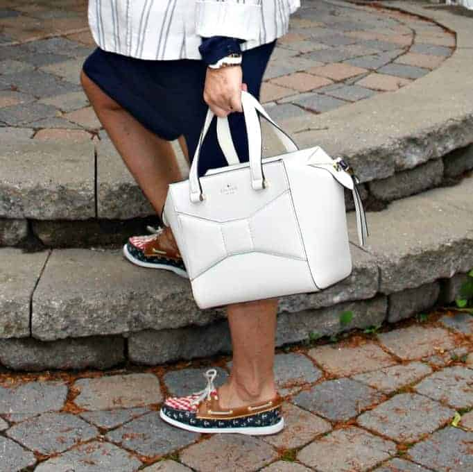 Kate Spade Beau Bag and Sperry's