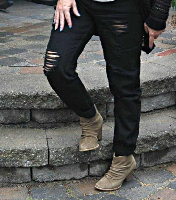 rodeo nut suede boot from Brand Affair