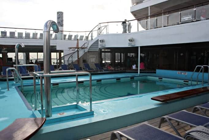 main pool on the Carnival Glory