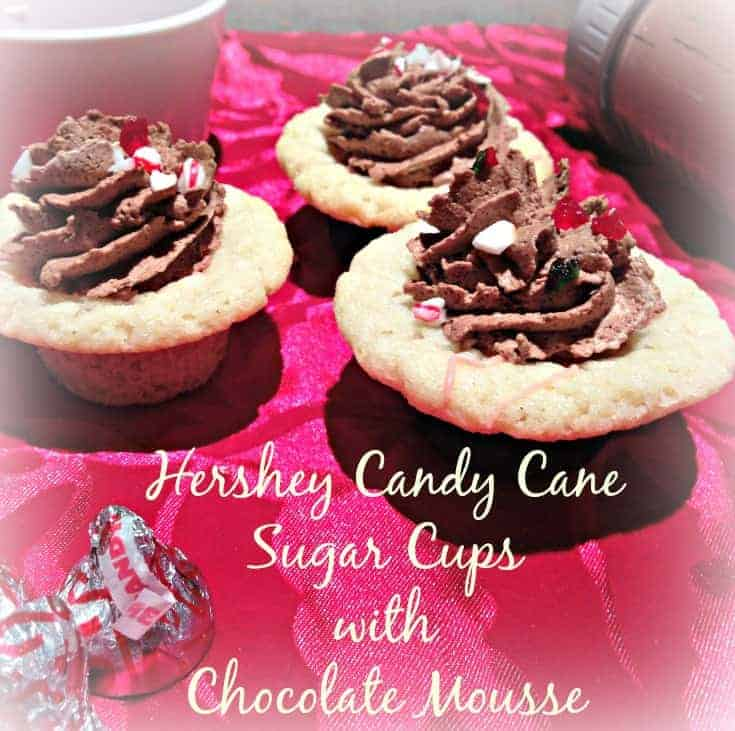 Candy Can Sugar Cookie Cups with Chocolate Mousse main