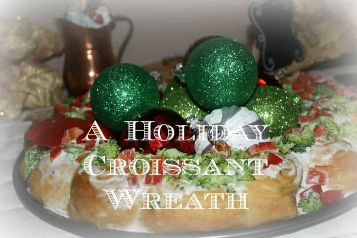 Holiday Croissant Wreath