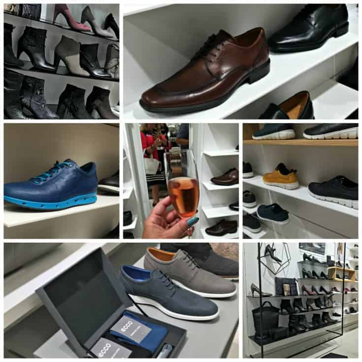 selection of shoes at ECCO Canada