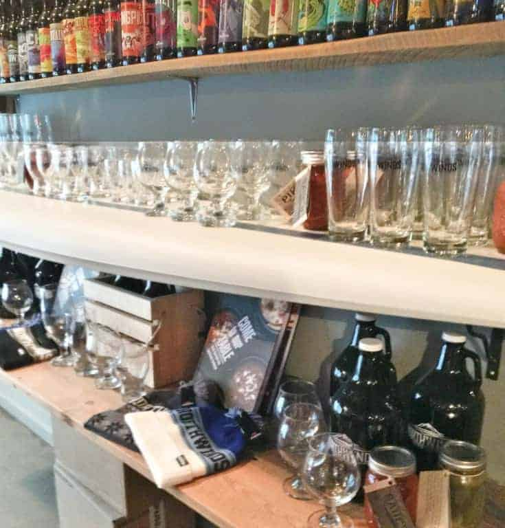 Northwinds Brewery and Kitchen in Collingwood the retail store