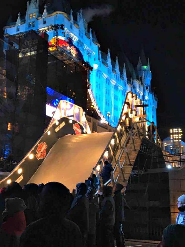 Ottawa RED BULL Crashed Ice 2017