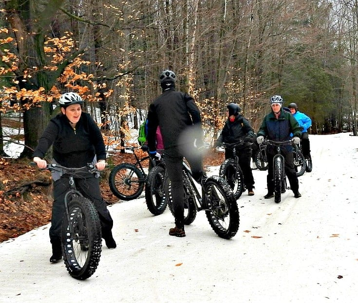Fat Biking at HorseShoe Resort