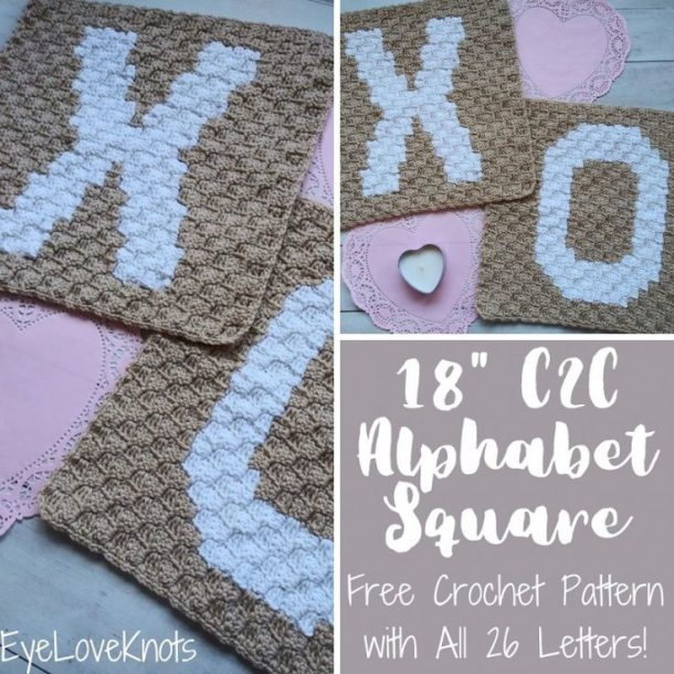 crochet x and o pattern
