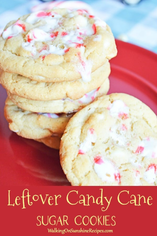 sugar cookies with candy canes