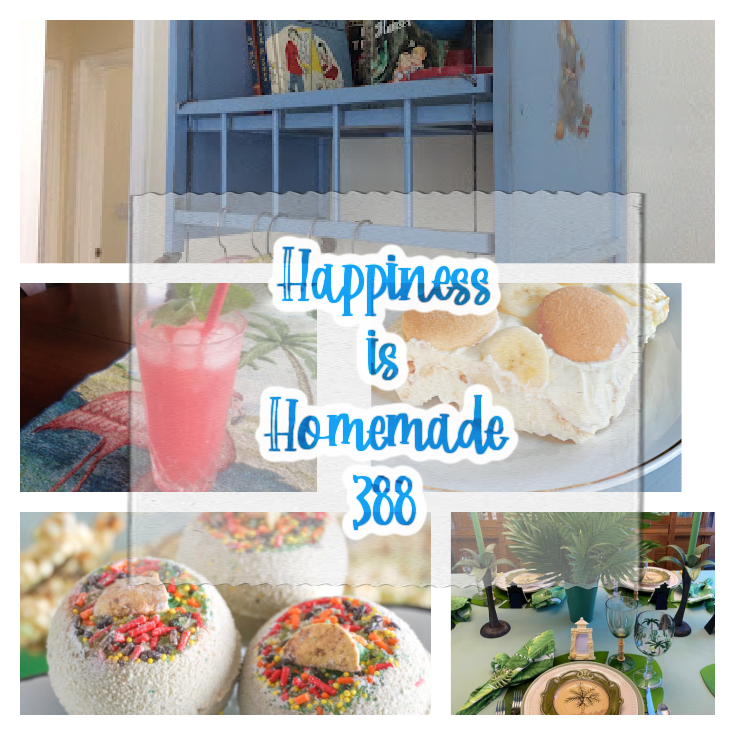 happiness is homemade pin