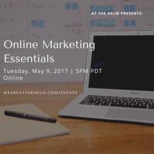 online marketing essentials webinar
