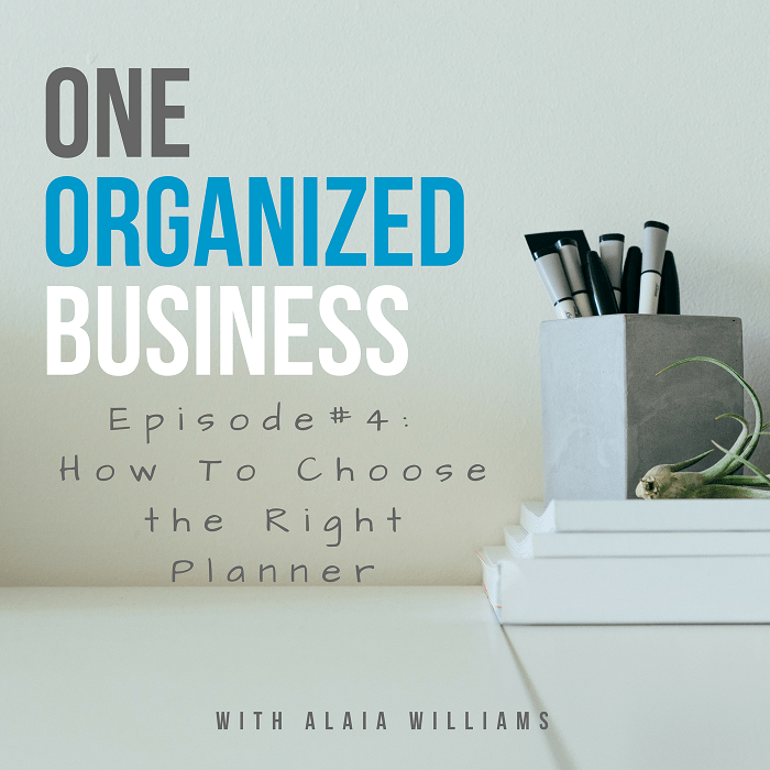 one organized business podcast episode 4