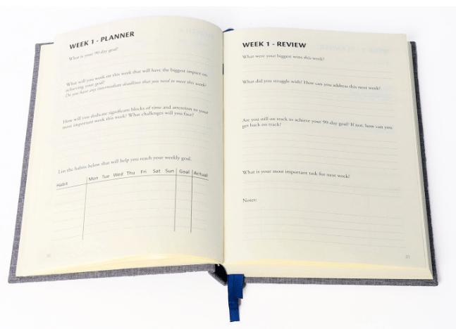 Progress Planner Inside layout