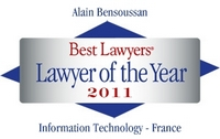 Best Lawyers 2011 Alain Bensoussan