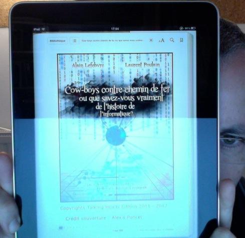 Notre livre sur l'ipad