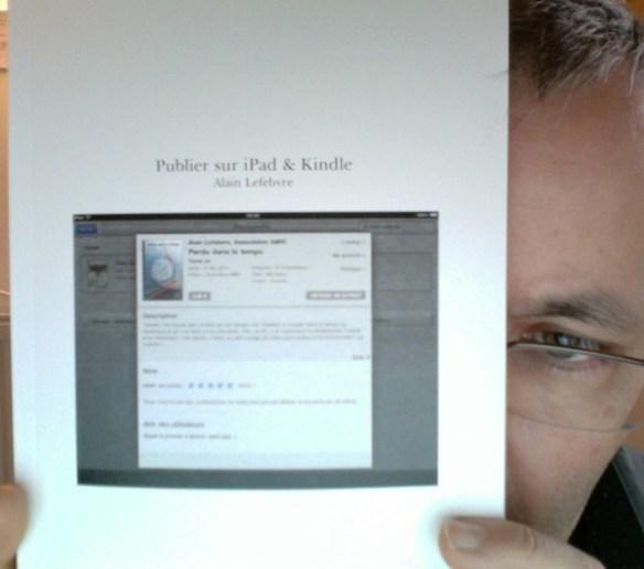 """La couverture de """"Publier pour iPad & Kindle"""""""