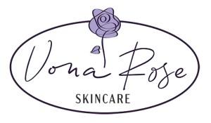 Vona Rose Skincare Logo Option 2