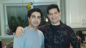 Issam. My college friend and real estate agent