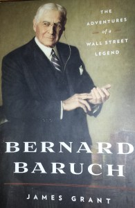 Book cover of Bernard Baruch