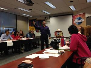 Another speech at Toastmasters